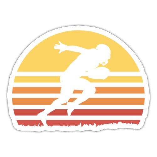 Football Sunset - Sticker