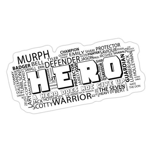 Hero - Sticker