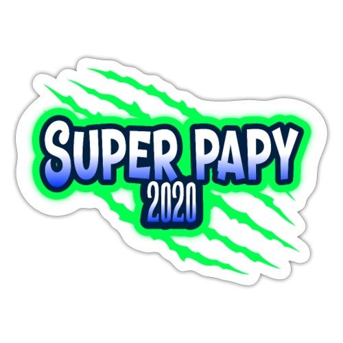 super papy 2020 - Autocollant