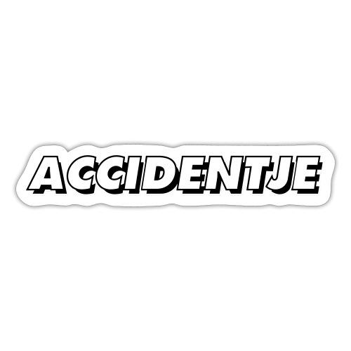 accidentje - ongelukje - Autocollant