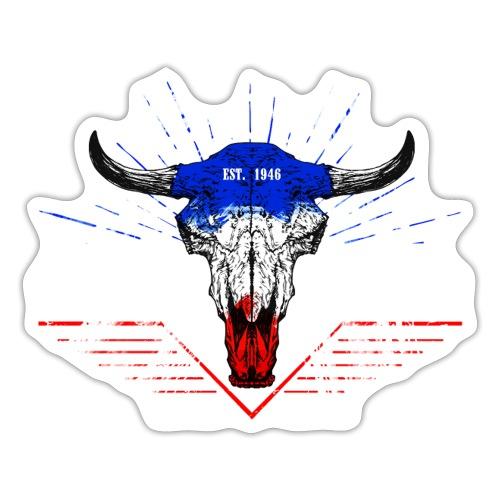 Bull Skull Schleswig-Holstein - Sticker