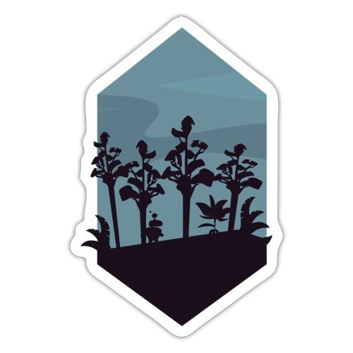 Jungle Silhouette - Klistremerke
