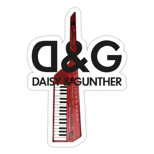 Met keytar-logo - Sticker
