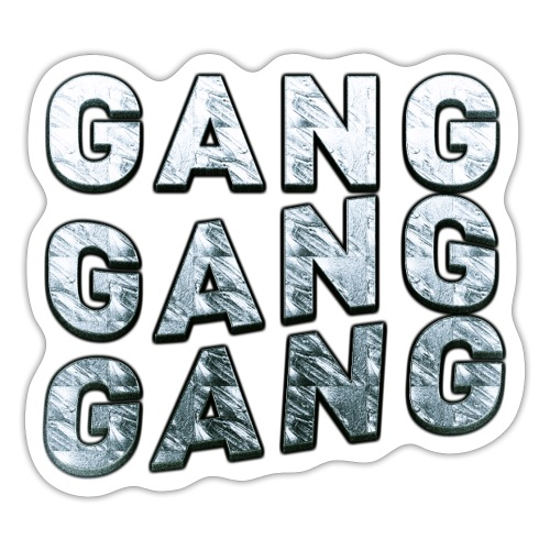 the squad of gangs - Sticker
