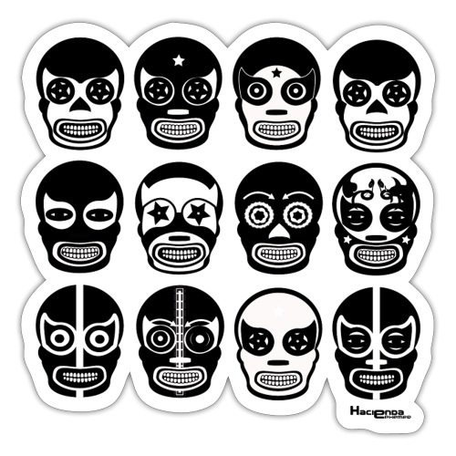 Hacienda lucha - Sticker