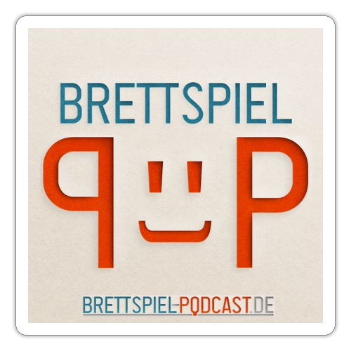Brettspiel-Podcast.de - der Merch - Sticker
