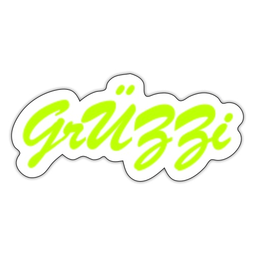 Official Grüzzi - Sticker