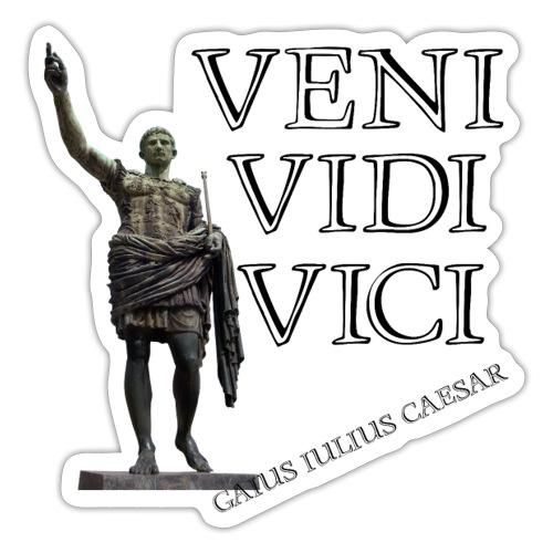 Giulio Cesare, veni vidi vici - Adesivo