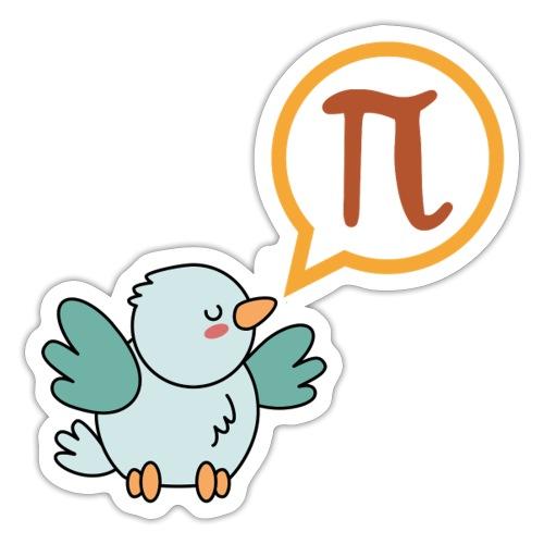 Lustiges Pi T - Shirt Geschenk für Nerds Mathe - Sticker