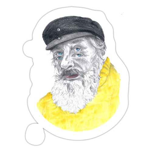 Sjöman - Klistermärke