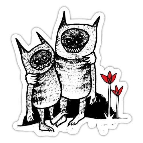 Vänner - Klistermärke