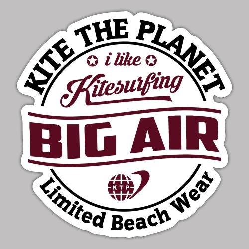 big air water ktp - Sticker