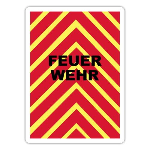Feuerwehr Heckwarner - Sticker