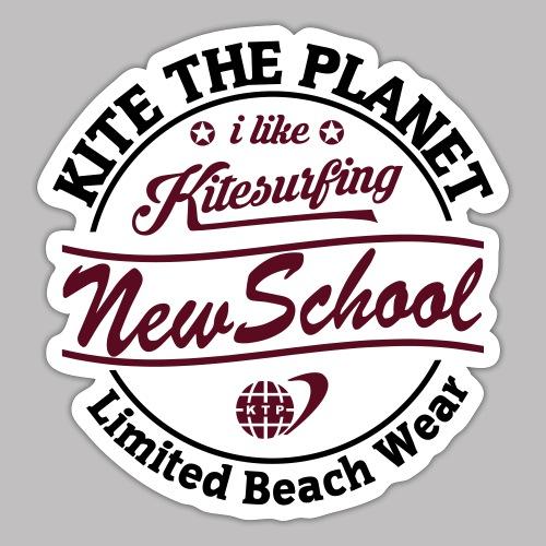 new school water ktp - Sticker