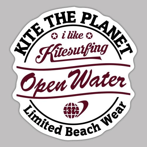 open water water ktp - Sticker