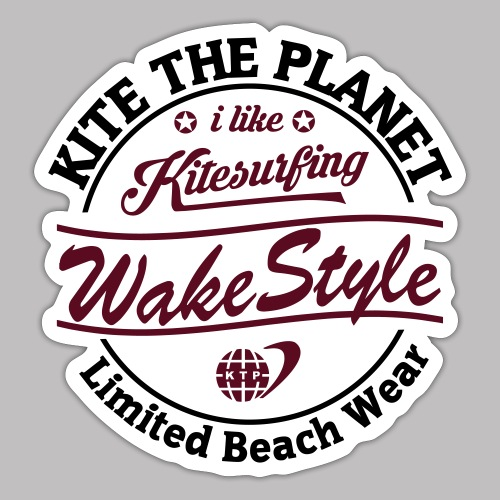 wakestyle water ktp - Sticker