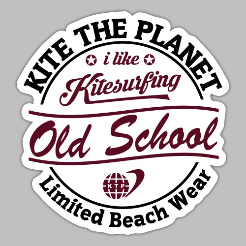 old school water ktp - Sticker