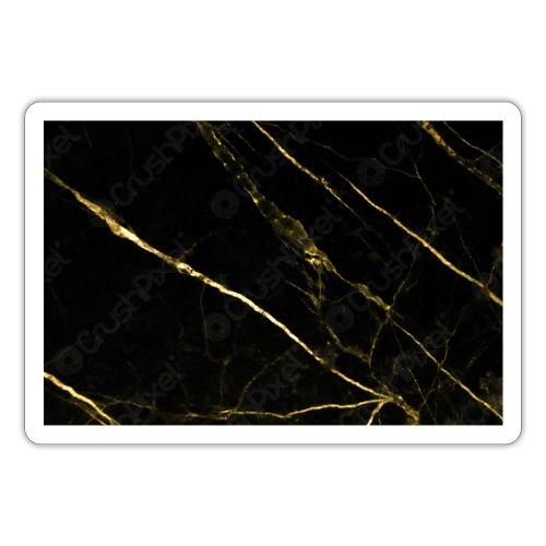 Gold marble - Sticker