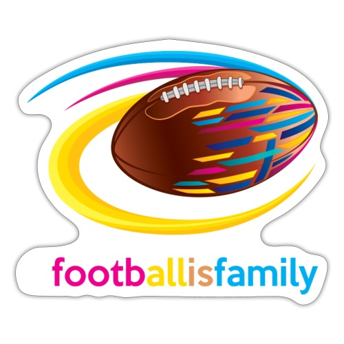 Football is Family - Sticker