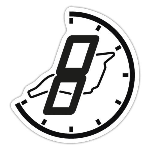 Official 8h Imola Logo - Sticker