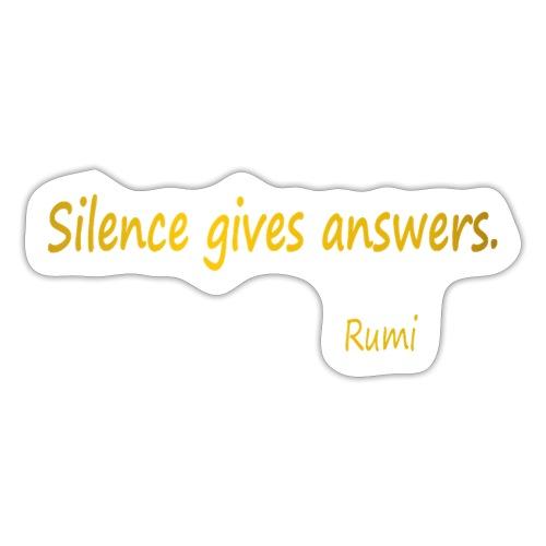 Silence - Sticker