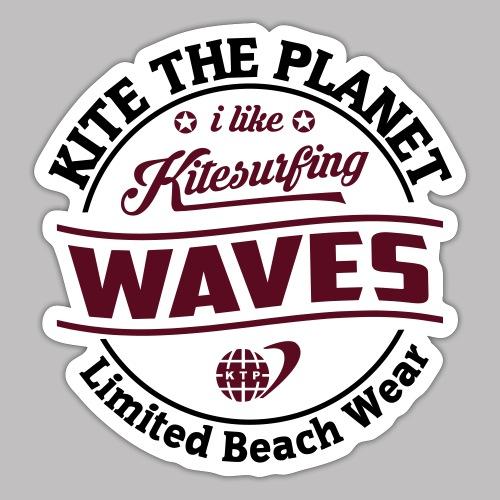 waves water ktp - Sticker