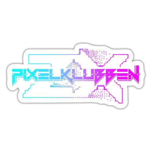 pixelklubbenZX print color - Klistermärke