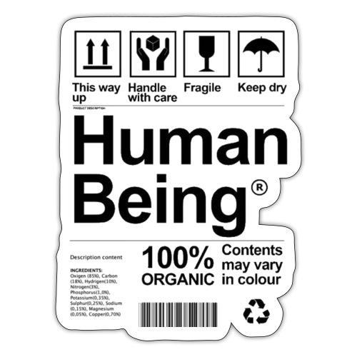 HUMAN BEING - Pegatina