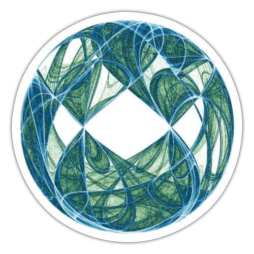 Harmonie im Ozean der Elemente 446oce - Sticker