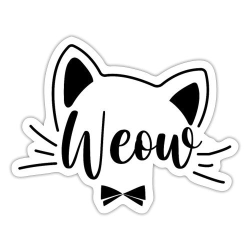 meow - Pegatina