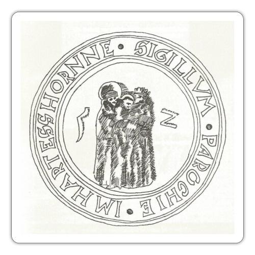 Herzhorn Siegel von 1552 - Sticker