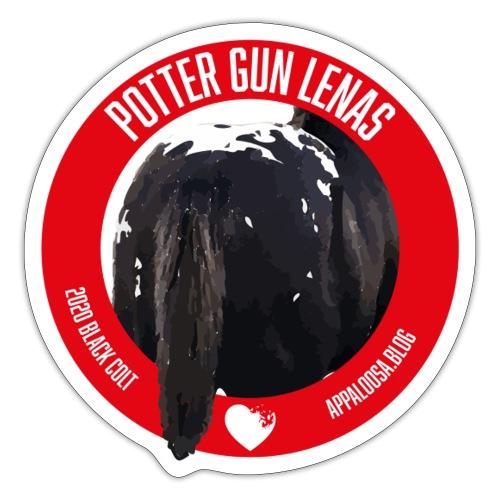 POTTER GUN LENAS - Adesivo