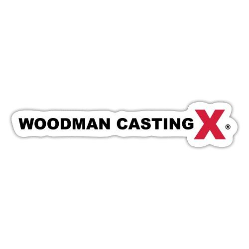 WCX logo with black text - Sticker