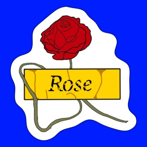 Rose - Klistermärke