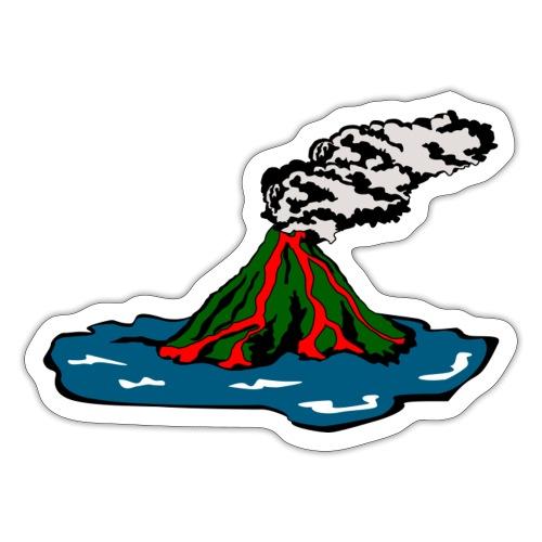 Volcano Island - Sticker