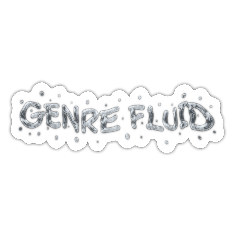 Genre Fluid - Sticker