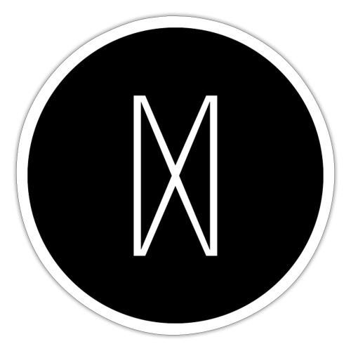 July 2017 Mokaby schwarz - Sticker