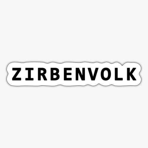 ZIRBENVOLK SCHRIFT - Sticker