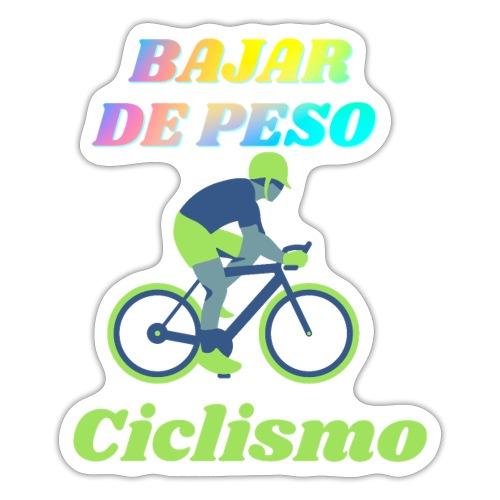 Ciclismo para perder peso - Pegatina
