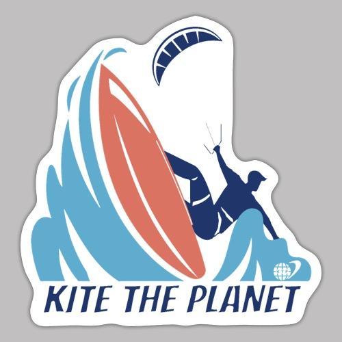 kiter wave stapless - Sticker