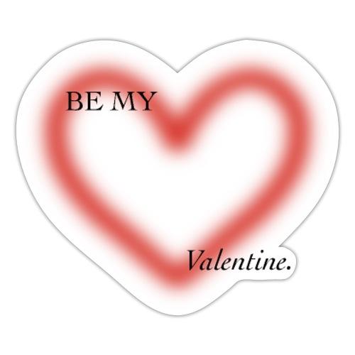 BE MY VALENTINE - Pegatina