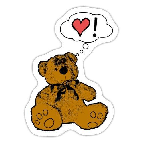 Teddy Bear Love - Adesivo