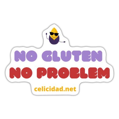 No Gluten No Problem - Pegatina