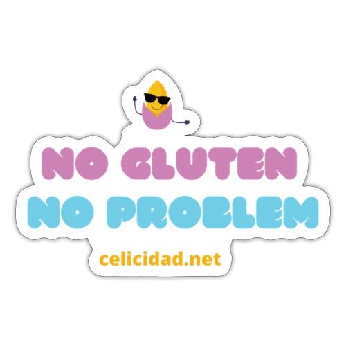No Gluten No Problem 2 - Pegatina