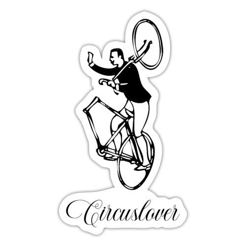 Circuslover - Vintage Acro Bicycle - Adesivo