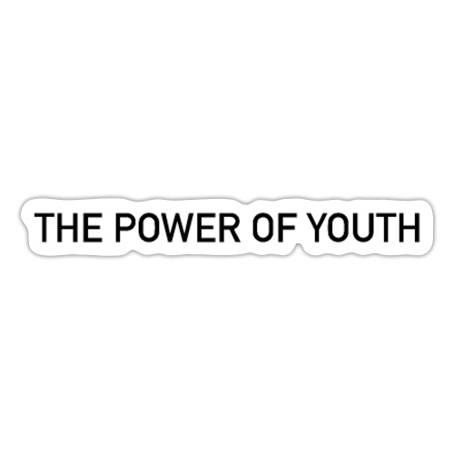 the power of youth - Pegatina