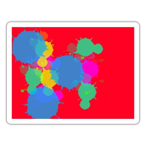 CHEMNITZ-RED SPLATTER - Sticker