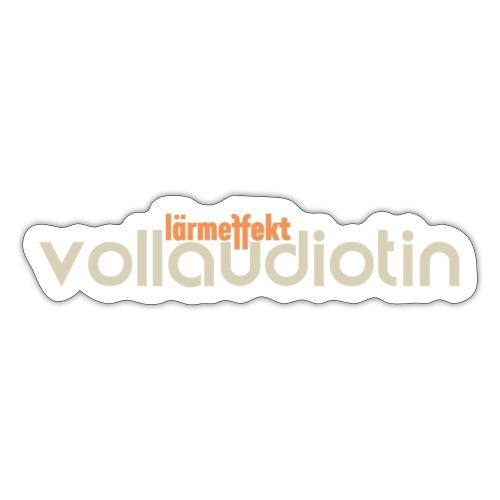 Vollaudiotin - Sticker