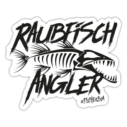 Raubfischangler - Sticker