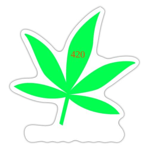 marie 420 - Autocollant